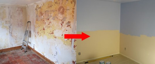 How To Paint A Room In An Old House (There's more to it than you'd think)