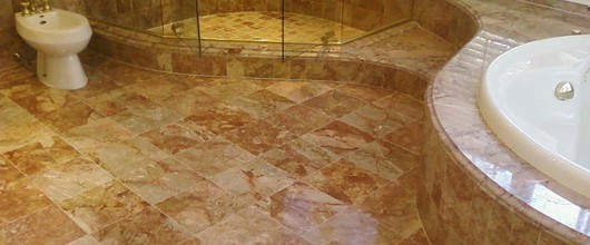 How To Clean A Marble Floor In The Bathroom
