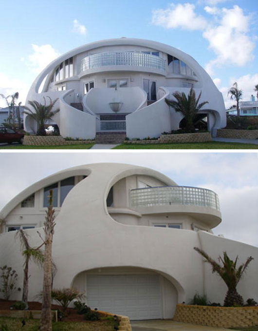 Dome Home Design Ideas: Showcase: Five Unique Beach House Designs