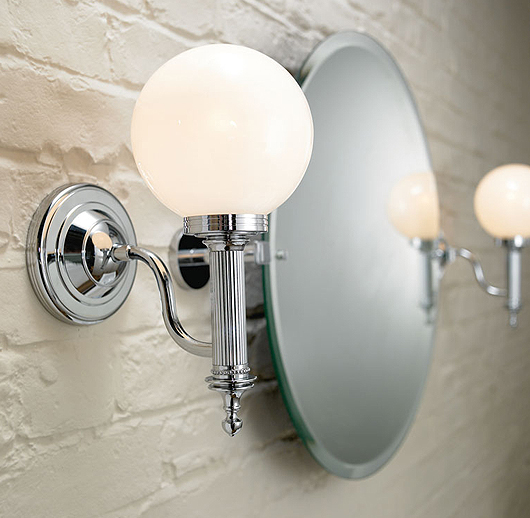 Bathroom Lights Side Of Mirror how to choose the right lighting fixtures for your bathroom | erie