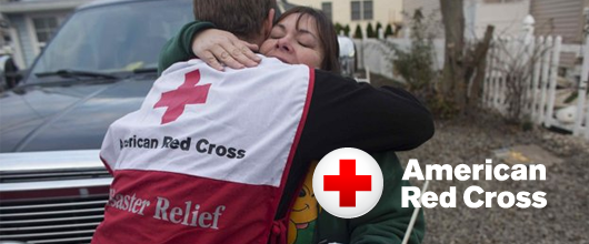 Erie Construction contributes $3,800 to the Red Cross toward the victims of Hurricane Sandy.