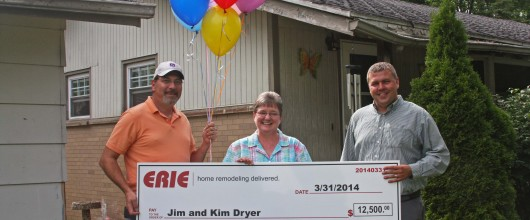 Congratulations To Jim and Kim Dryer